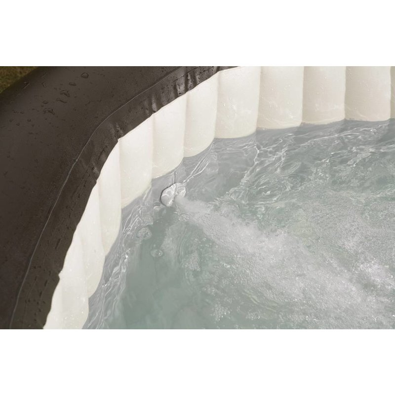 Intex PureSpa Jet & Bubble Deluxe Octagon + Hard Water Systeem + Zoutwatersysteem