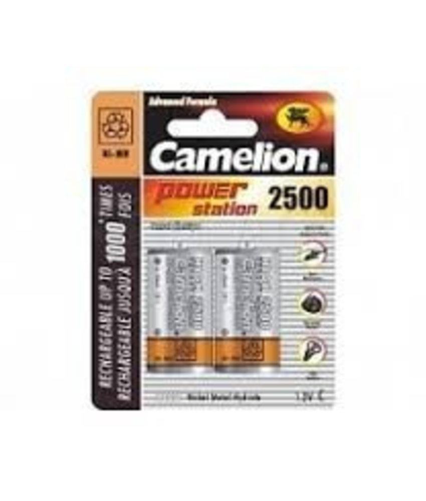 Camelion Batterijen oplaadbaar type C (2 stuks)