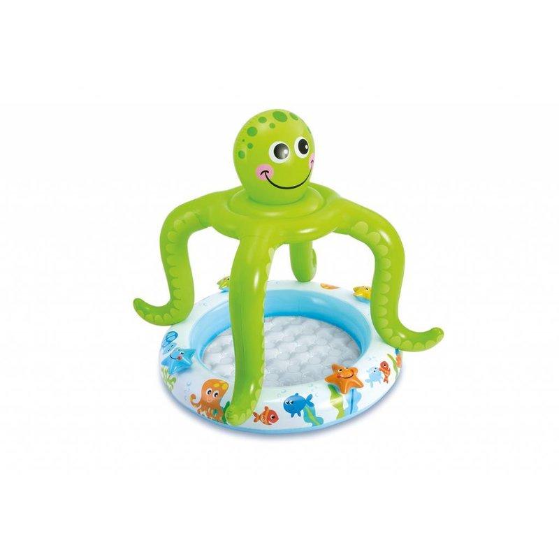 Intex Smiling Octopus Shade Baby Pool