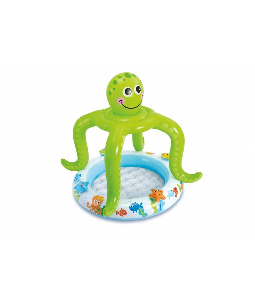 Intex Smiling Octopus Shade Baby Pool