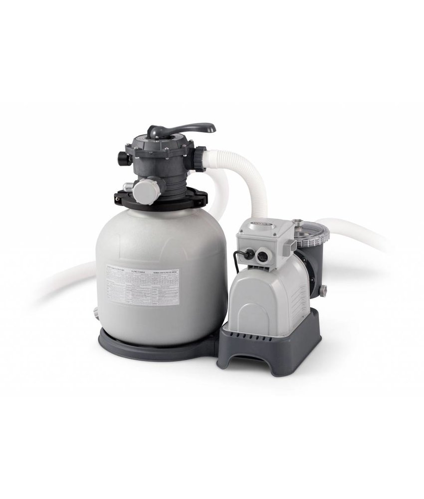 Intex Krystal Clear Zandfiltersysteem 8000 liter