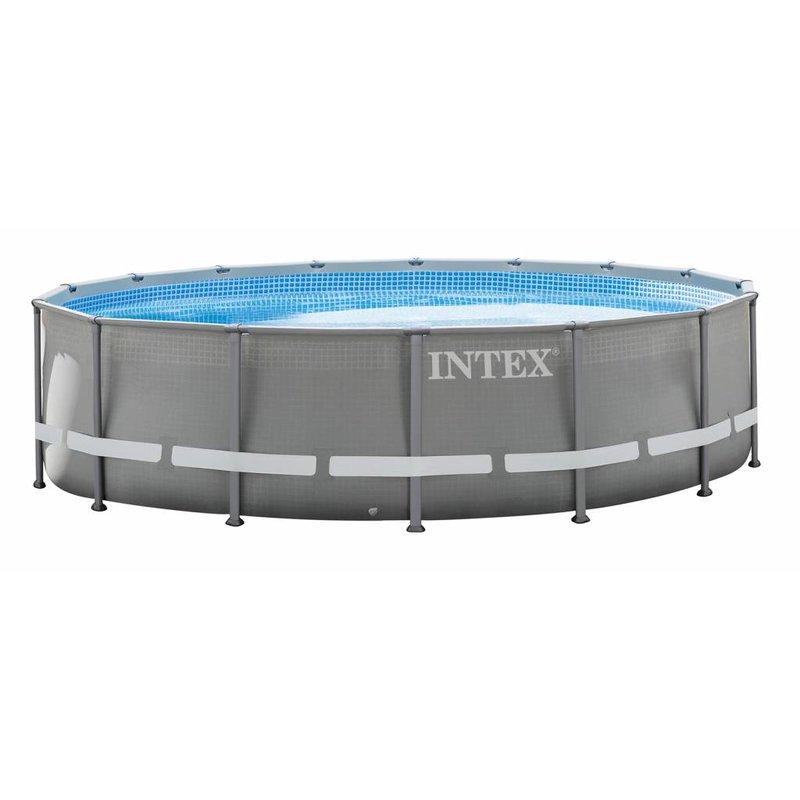Intex Ultra Frame Pool met zandfilter 488x122 cm
