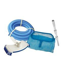 Luxe onderhoudset voor zwembad met zandfilter