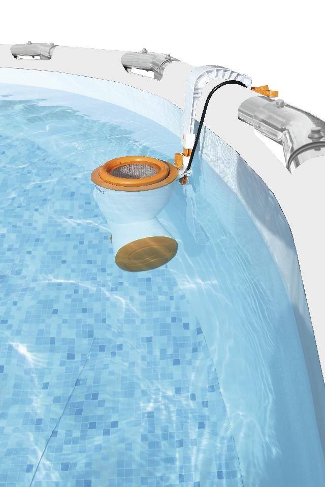 bovengrondse pool elektrische aansluiting