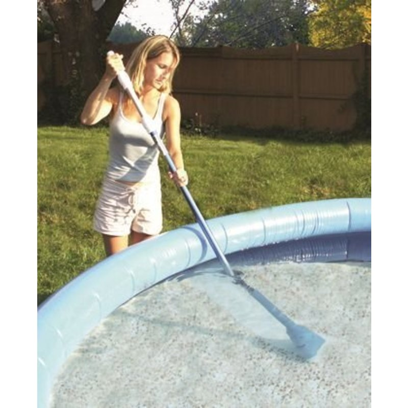 Pool Blaster Zwembadstofzuiger Aqua Broom Ultra (incl. 1 m steel)