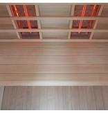 Interline Ruby 2-persoons infraroodcabine sauna