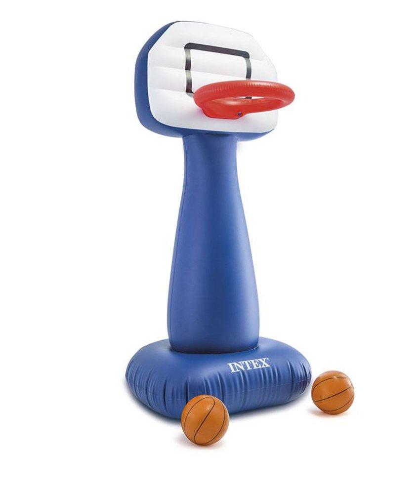 Intex Opblaasbare Basketbal Set