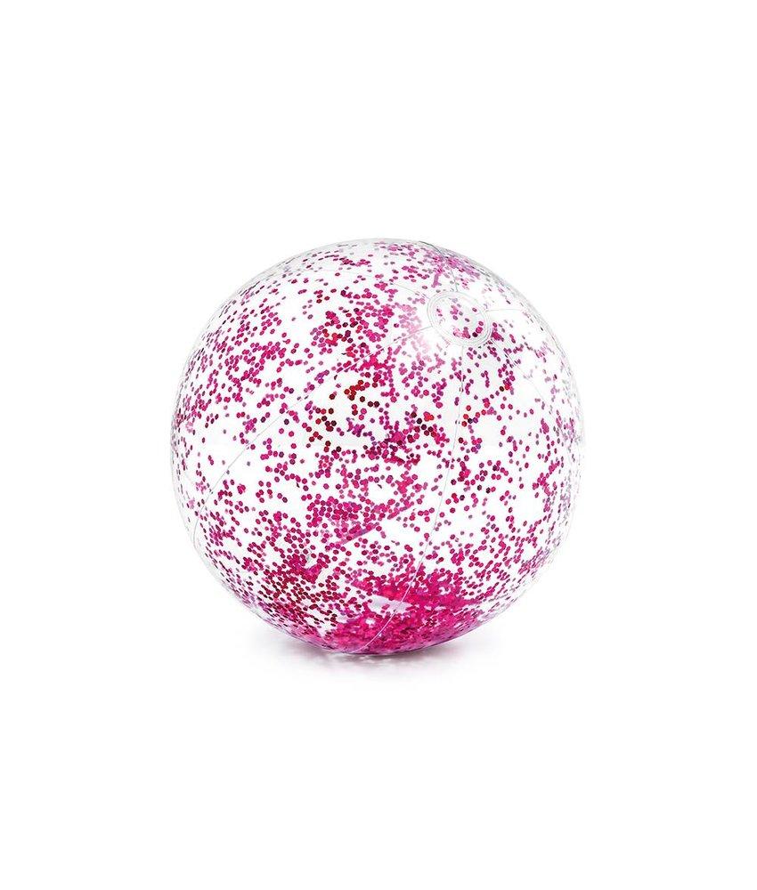 Intex Transparant Glitter Strandbal 71 cm