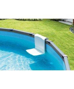 Zwembad bankje