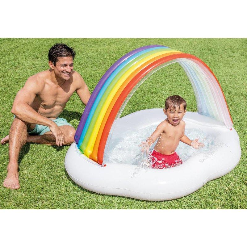 Intex Regenboog babyzwembad