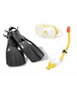 Wave Rider Sports Snorkelset met zwemvinnen