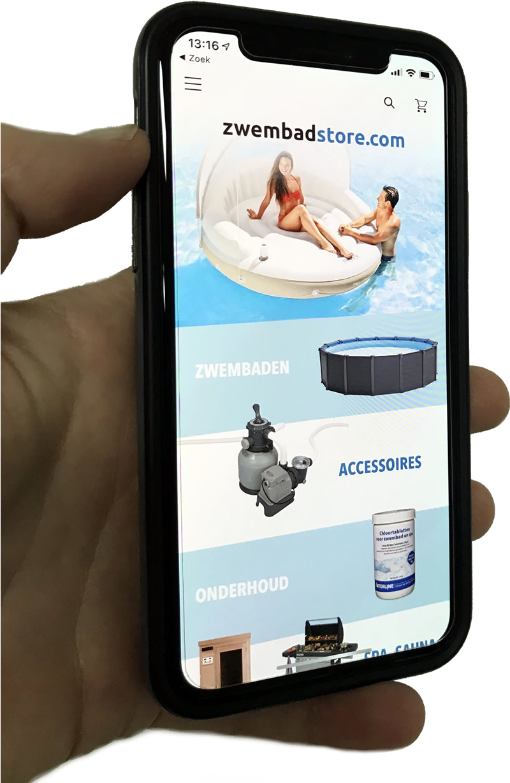Zwembadstore app