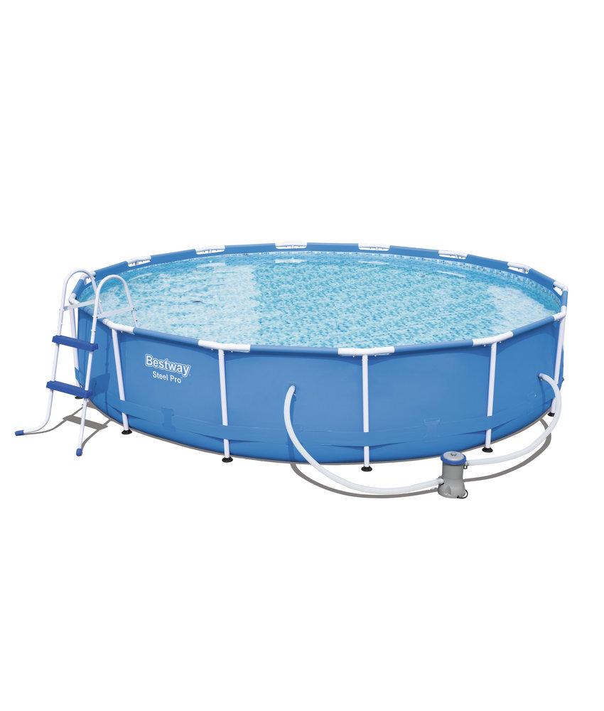 Bestway Steel Pro Frame Pool 427x84 cm met filterpomp