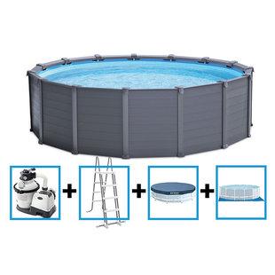 Graphite Panel Pool 478x124 cm (model 2022)