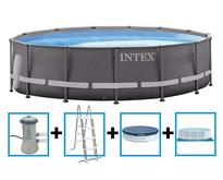 Ultra Frame Pool 427x107 cm met filterpomp