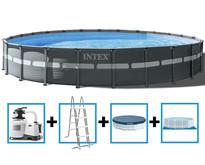 Ultra XTR Frame Pool 732x132 cm + zandfilterpomp en acc.