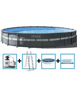 Ultra XTR Frame Pool met zandfilter 732x132 cm