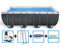Ultra XTR Frame Pool 549x274x132 cm + zandfilterpomp en acc.
