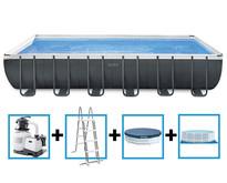 Ultra XTR Frame Pool 732x366x132 cm + zandfilterpomp en acc.