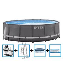 Ultra Frame Pool met zandfilter 488x122 cm