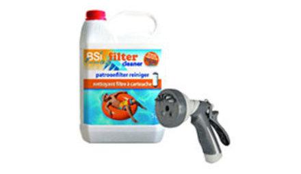 Reinigingsmiddelen voor filters