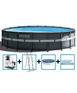 Ultra XTR Frame Pool 549x132 cm + zandfilterpomp en acc.