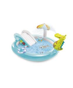 Krokodil 2020 opblaasbaar kinderspeelbad