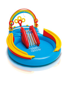 Rainbow Ring opblaasbaar kinderspeelbad