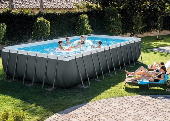 De verschillende vormen zwembad