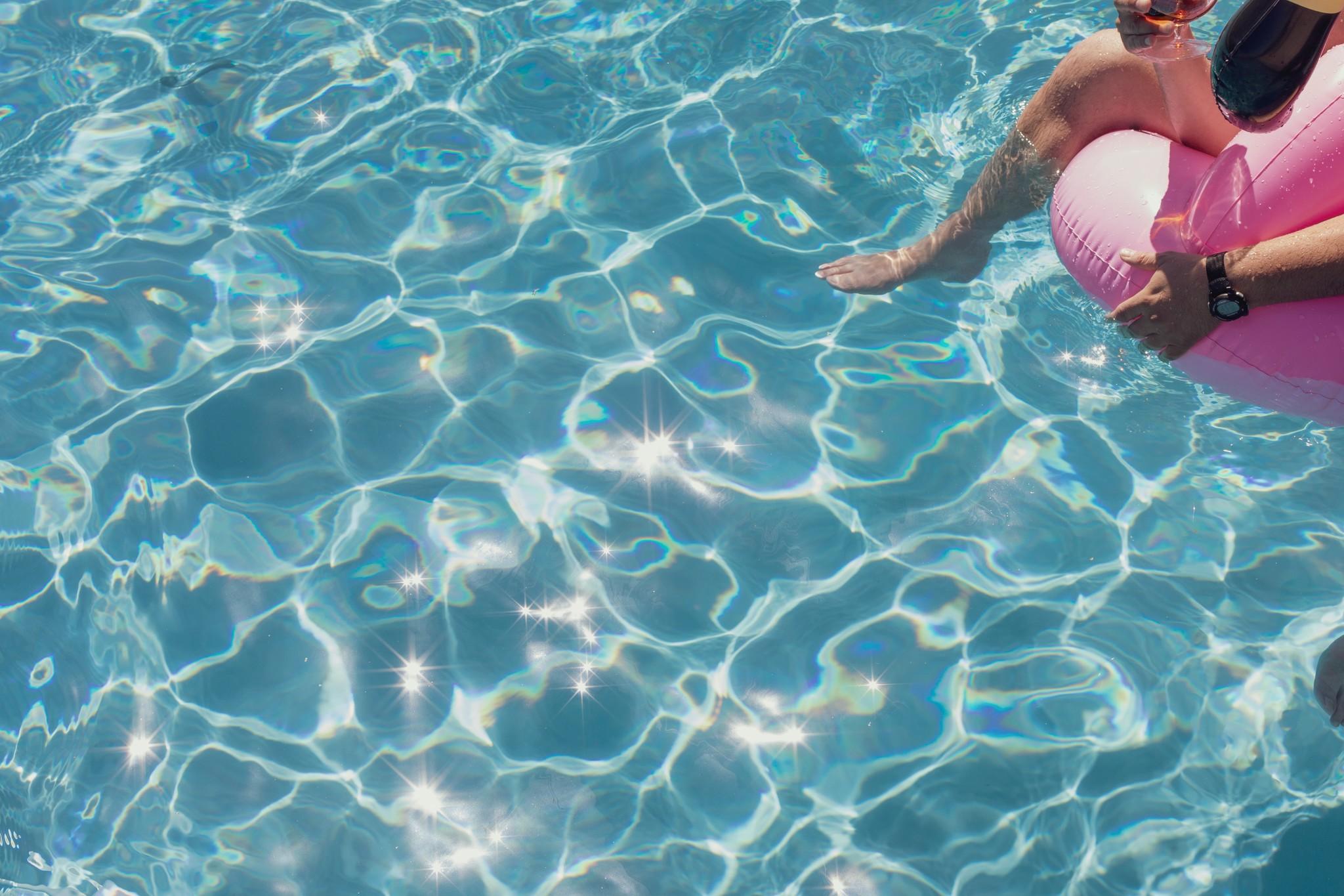 De zwembaden van Intex
