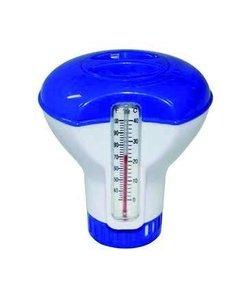Chloordrijver met thermometer