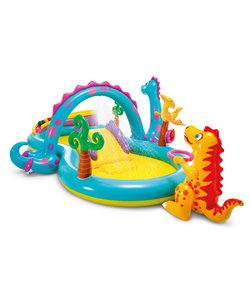Dinoland opblaasbaar kinderspeelbad