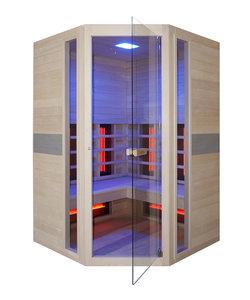 Jade 2-persoons infraroodcabine sauna hoekmodel