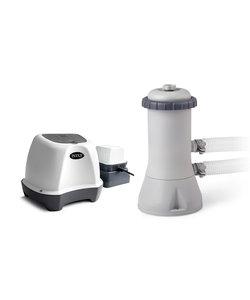 Zoutwatersysteem en filterpompset Small