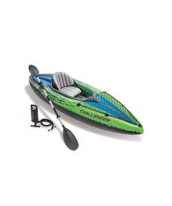 Challenger K1 1 pers. kayak met peddel en pomp