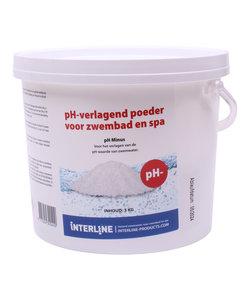 pH Minus poeder 3 kg (zuurgraad verlagen)