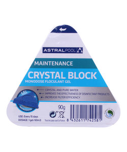 PoolGel kristalhelder water (1 blokje)