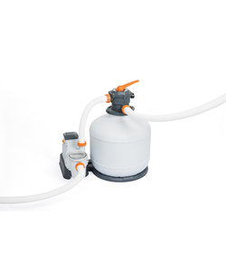 Flowclear zandfilterset 9800 liter