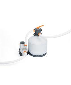 Flowclear zandfilterset 7500 liter