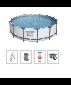 Steel Pro Max Frame Pool 427x107 cm + filterpomp