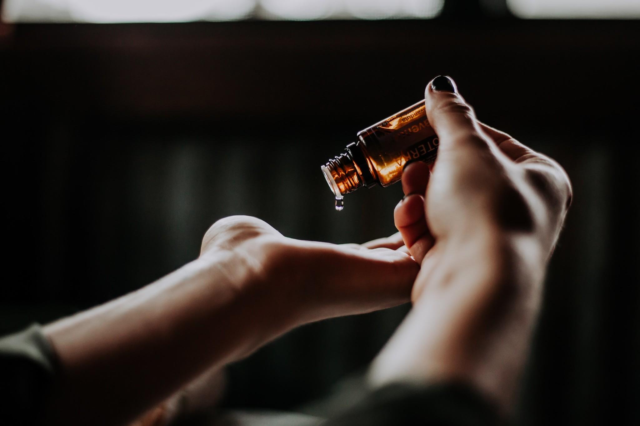 De magische werking van etherische olie