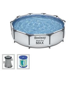 Steel Pro Max 305x76 cm + filterpomp
