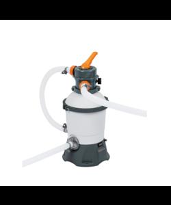 Flowclear zandfiltersysteem 3028 liter + Polysphere