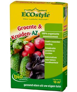 Groente & Kruiden-AZ 1 kg (10 m²)
