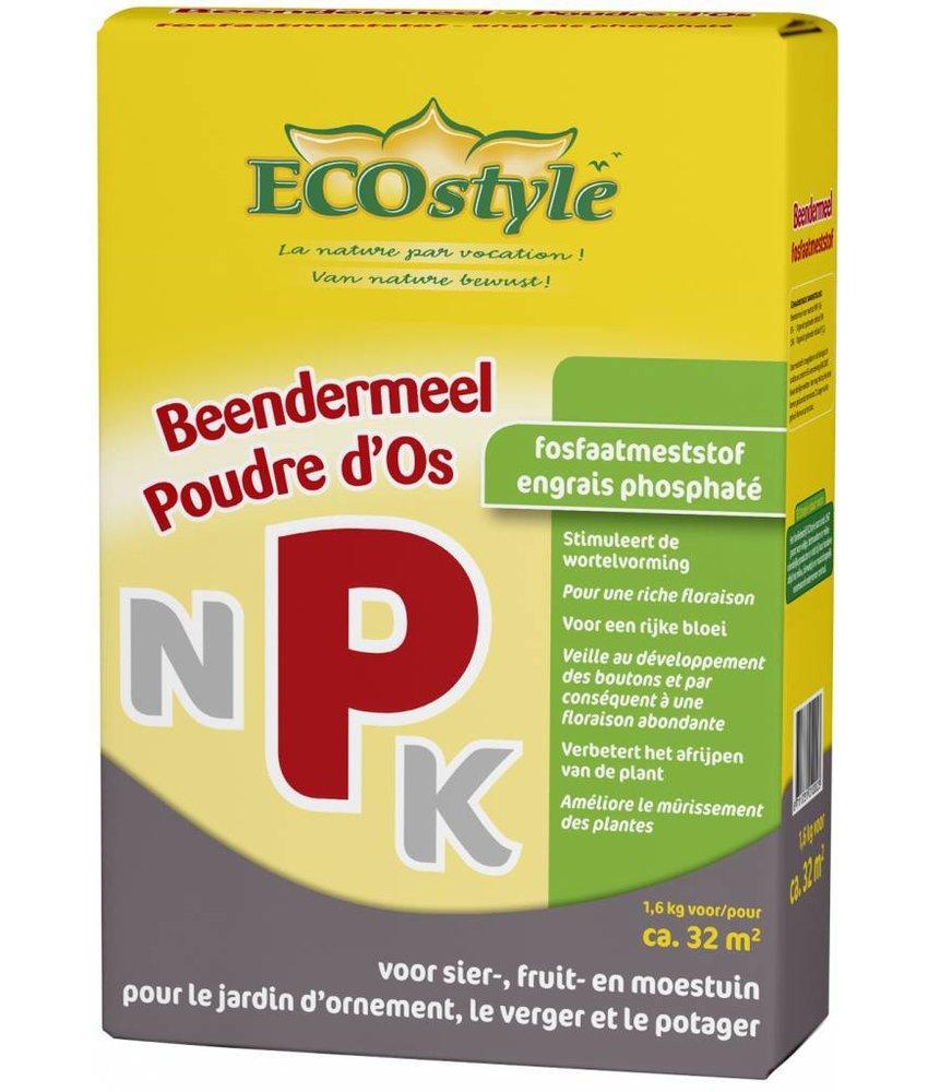Ecostyle Beendermeel (P) 1.6 kg (32 m²)