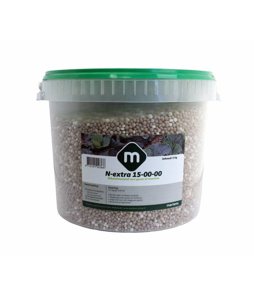 Mertens Stikstofmest N-Extra 15% 5 kg