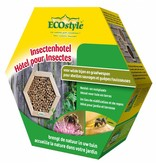 Ecostyle Insectenhotel voor wilde bijen en graafwespen (honingraat)