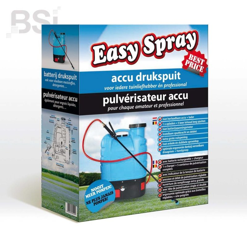 BSI Accu drukspuit 15 Liter