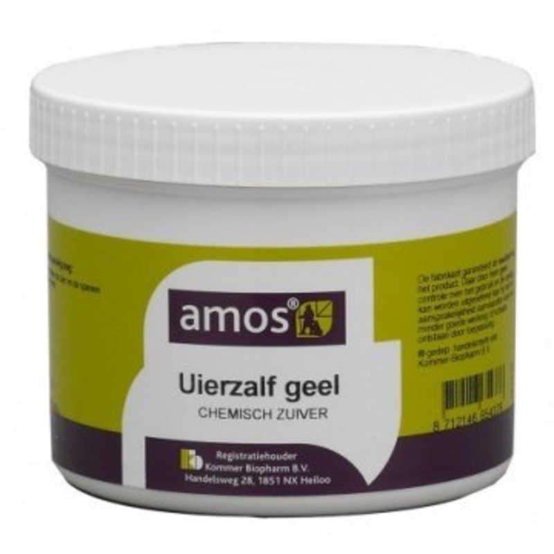 Amos Uierzalf geel pot 800 gram