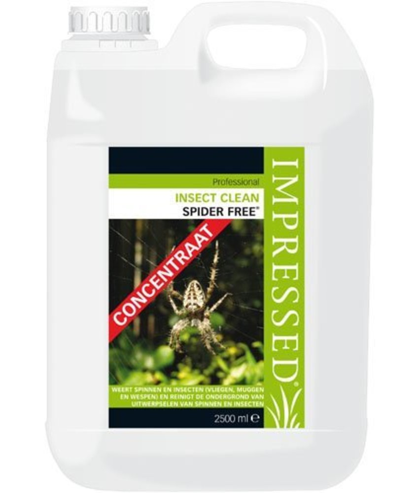 Impressed Insect Clean Spider Free 2,5 Liter (concentraat)